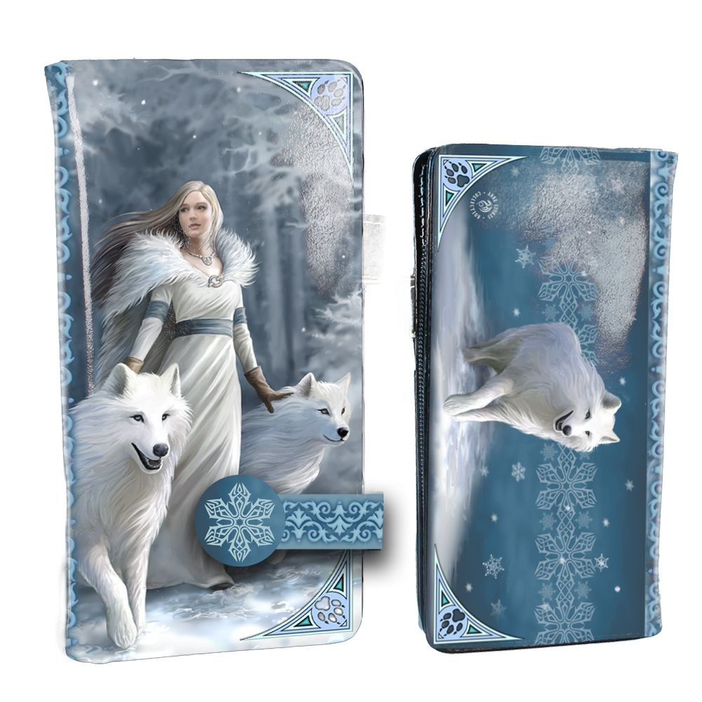Winter Guardians Embossed Purse