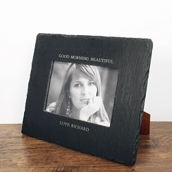 Slate Landscape Photo Frame