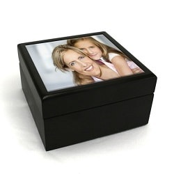 Personalised Small Photo Jewellery Box