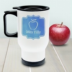 Personalised World's Best Teacher Travel Mug