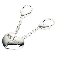 Personalised-Silver-Plated-Joining-Hearts-Keyrings