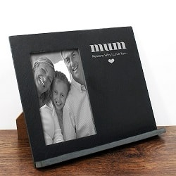 Reasons Why I love You Slate Photo Frame