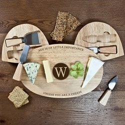 The Importance of Age Wooden Cheese Board Set