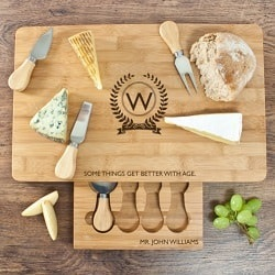 The Importance of Age Bamboo Cheese Board