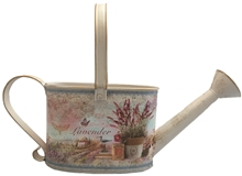 Large Lavender Metal Watering Can 32cm