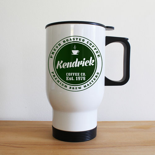 Personalised Coffee Company Travel Mug