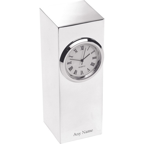 Personalised Column Clock