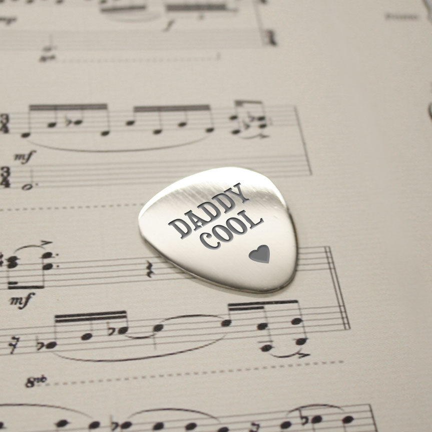 Personalised Daddy Cool Plectrum