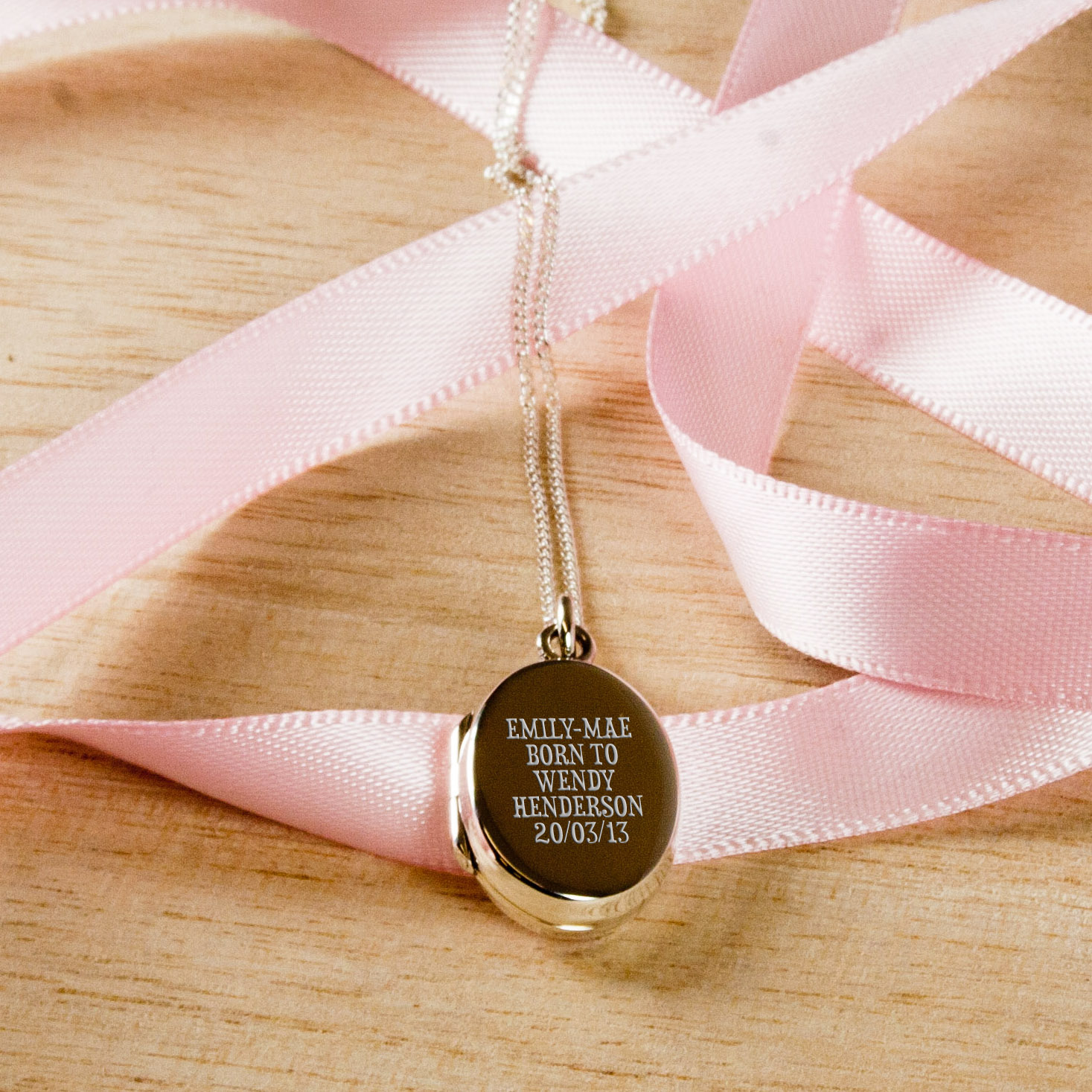 Personalised New Mother Locket