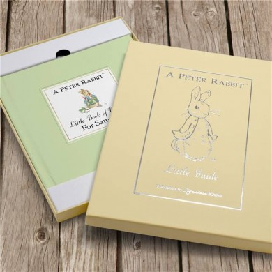 Personalised The Peter Rabbit Little Book of Virtue Book