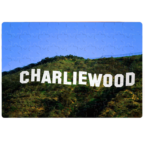 Personalised Hollywood Sign Jigsaw